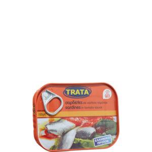 Sardinen in Tomatensauce (100g) Trata