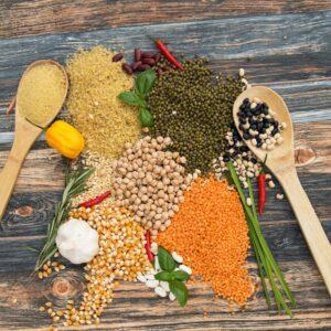 Hülsenfrüchte & Reis