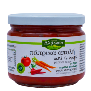 Almopia Traditioneller weicher Paprika aus dem Dorf (300gr)